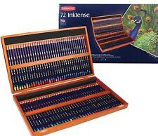 Derwent Inktense Pencils Wooden Box Set 72