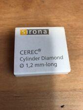 Sirona Cerec inLab cylinder Diamond Ten Total Burs dental milling 1.2mm-long
