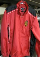 Chicago Blackhawks Men's G-III Windbreaker Lightweight Jacket Size Large
