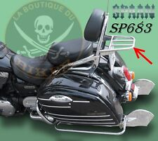PORTE PAQUET KAWASAKI VN1600 CL TOURER...CHROME...SP683...SPAAN-LA BOUTIQUE DU B