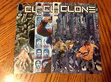 Clone #1-3 Set - Image Comics - TV Series Soon