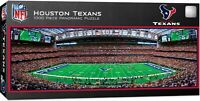 HOUSTON TEXANS STADIUM PANORAMIC JIGSAW PUZZLE NFL 1000 PC TEXAS
