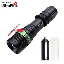 Ultrafire Zoomable 12000Lumens XM-L T6 LED Flashlight Focus Torch Light