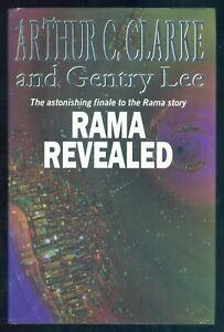 ARTHUR C. CLARKE & GENTRY LEE - RAMA REVEALED - 1ST UK H/B
