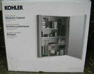 Kohler surface mount medicine cabinet rustproof aluminum 20x24 in.