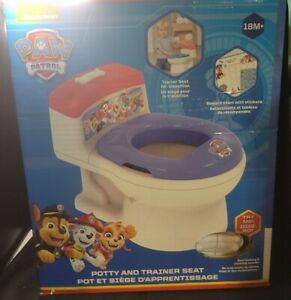 Nickelodeon ImaginAction Paw Patrol Potty and Trainer Seat
