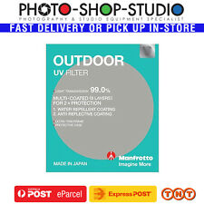 Manfrotto 43mm OUTDOOR UV Camera Lens Filter 599243M Glass Water Repellent Coat