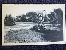 1940's Entrance to Faculty Hill, Concord College in Athens, WV West Virginia PC