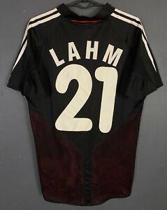 MEN'S LAHM #21 GERMANY 2004/2005 DEUTSCHLAND SOCCER FOOTBALL SHIRT JERSEY SIZE S