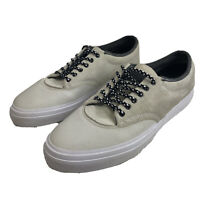 Mens 12 Converse Crimson Gray Suede Ox White Skateboard Shoes Casual Low Top