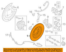 FORD OEM Rear Brake-Rotor BT4Z2C026B
