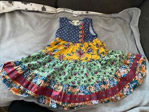 Preowned MATILDA JANE Dress Girls SIZE 4