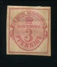 Al7) AD Hanover MiNr 13b * Unused Condition