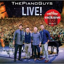 The Piano Guys LIVE! CD Target Exclusive 3 Bonus Tracks NEW