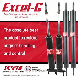 Front + Rear KYB EXCEL-G Shock Absorbers for FORD Fairlane ZF ZG ZH ZJ XR Sedan