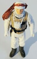 "Vintage 1980 Kenner Star Wars 3.75"" Luke Skywalker Hoth Action Figure Hong Kong"