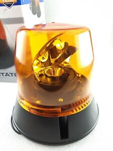 ECCO LED Amber Beacon Rotator 12v 24v Amber 3 Bolt Class 1 Traffic Control