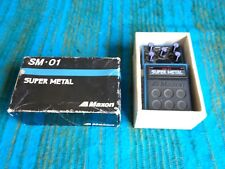 Maxon SM-01 Super Metal Distortion - Rare Japan Vintage Early 90's - C166