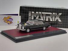 Matrix MX41302-062 # Mercedes Benz 300 SEL Landauletta Vatican City closed 1:43