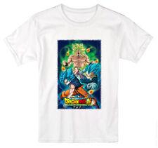Dragon Ball Camiseta Goku Super Broly Bola de Dragón t-shirt Niños y Adultos