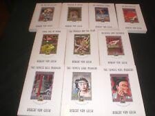 TEN 10 Judge Dee (Chinese Detective) paperback mysteries by Robert Van Gulik
