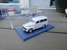 NEO  - Volvo  VOLVO PV DUETT IN CREME 1/43 as new IN VITRINE BOX