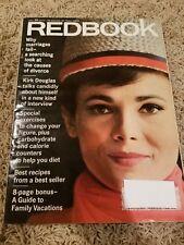 Vintage Redbook Magazine 1966 April Kirk Douglas Paul Ernst National Parks Guide