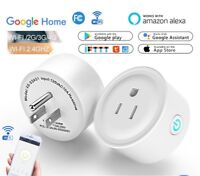 Wifi Smart Plug Remote Control Outlet Socket Works with Alexa & Google Home