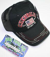Chevy chevrolet summer mesh snap back trucker cap truck hat ball GM Duramax gear