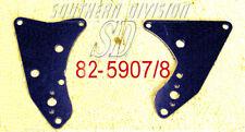 Triumph 650 unit rear engine plates 82-5907/8 F5907 F5908 Oldschool starrahmen