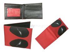Marvel Avengers Comic Deadpool Fabric Boys Red Wallet Card Holder Novelty Gift