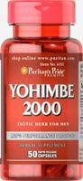 Puritan's Pride Yohimbe 2000 mg - 50 Capsules (free shipping)