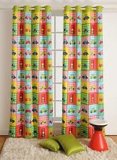 Digitally Printed Cars Kids / Baby Blockout Eyelet Blue 1 x Curtain 120x220cm