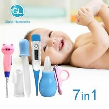 Digital Body Thermometer Baby Kit Infant Grooming Kit 7pcs Essential Set Babies