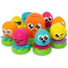 Tomy Toomies Octopals Octopus Number Sorting Baby & Toddler Bath Toy, 12 Months+