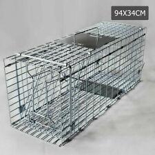 Giantz 94x34x36cm Humane Animal Trap Cage - TRAPCAGE9434