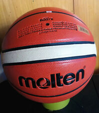 Molten Gg7X Pu Basketball Training Composite Leather Approved Size 7 W/Bag & Pin