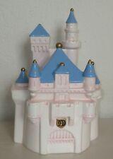 Disney Direct Overland Park Cinderella Pink & Blue Castle Cookie Jar