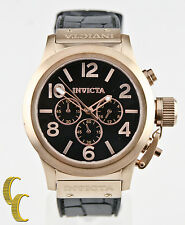 Men's Invicta Corduba Chronograph Black Dial Stainless Steel Watch Model 1145
