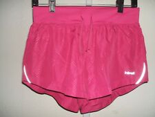 HIND Running Brief Lined Drawstring Waist Athletic Pink Shorts Women's  Size S