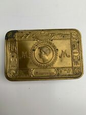 More details for original princess mary christmas 1914 soldier's gift tin with contents