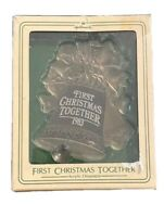 Hallmark Keepsake Ornament Babys First Christmas 1996 QX5764