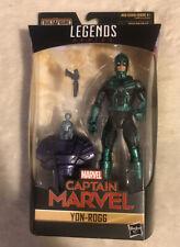 Marvel -  Legends Series - Captain Marvel - YON-ROGG - 6?  - BAF Kree Sentry NIB