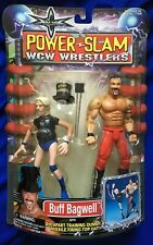 MOC WCW Toy Biz Powerslam Buff Bagwell Wrestling Action Figure wwe