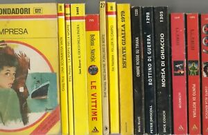 lotto  60  giallo  gialli    Mondadori