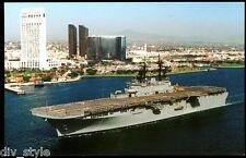 USS Essex lhd-2 Tarjeta Postal NOS MARINA BUQUE DE GUERRA Anfibio Assault Enviar