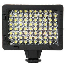 CN-76 LED Pro Studio Video Camcorder Hot Shoe Light Lamp For Canon Nikon Cameras