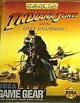 Indiana Jones And The Last Crusade Game Gear Rare