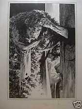 Bernie Wrightson: Frankenstein Monster at Door (unsigned) (USA))