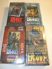 Heavy Metal  All  4 Boxes - 1, Art of, Movie & More, F.A.K. K.by Comic Images